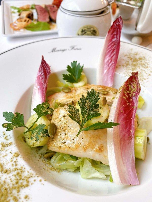 マリアージュフレール魚料理