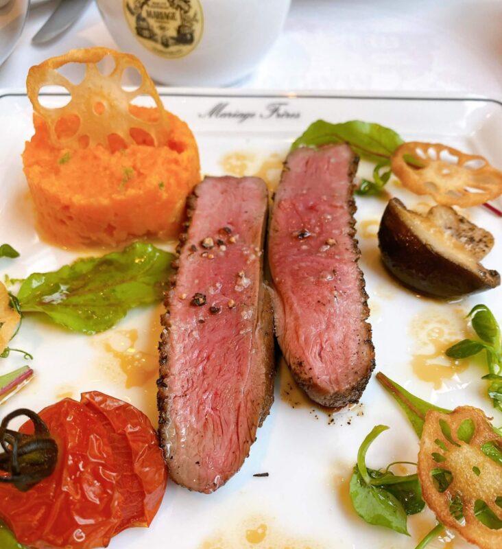 マリアージュフレール肉料理