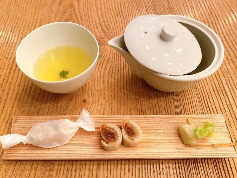 ヒガシヤギンザ・お茶菓子