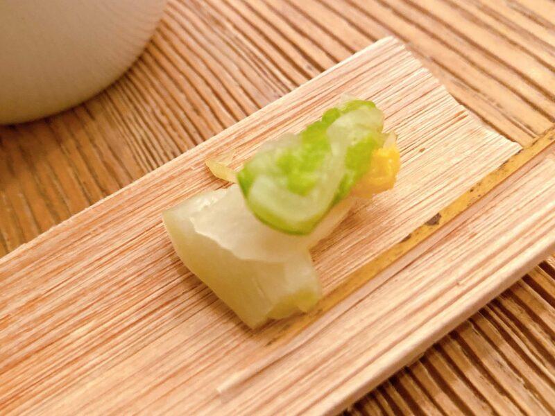 ヒガシヤギンザ・白菜の漬物
