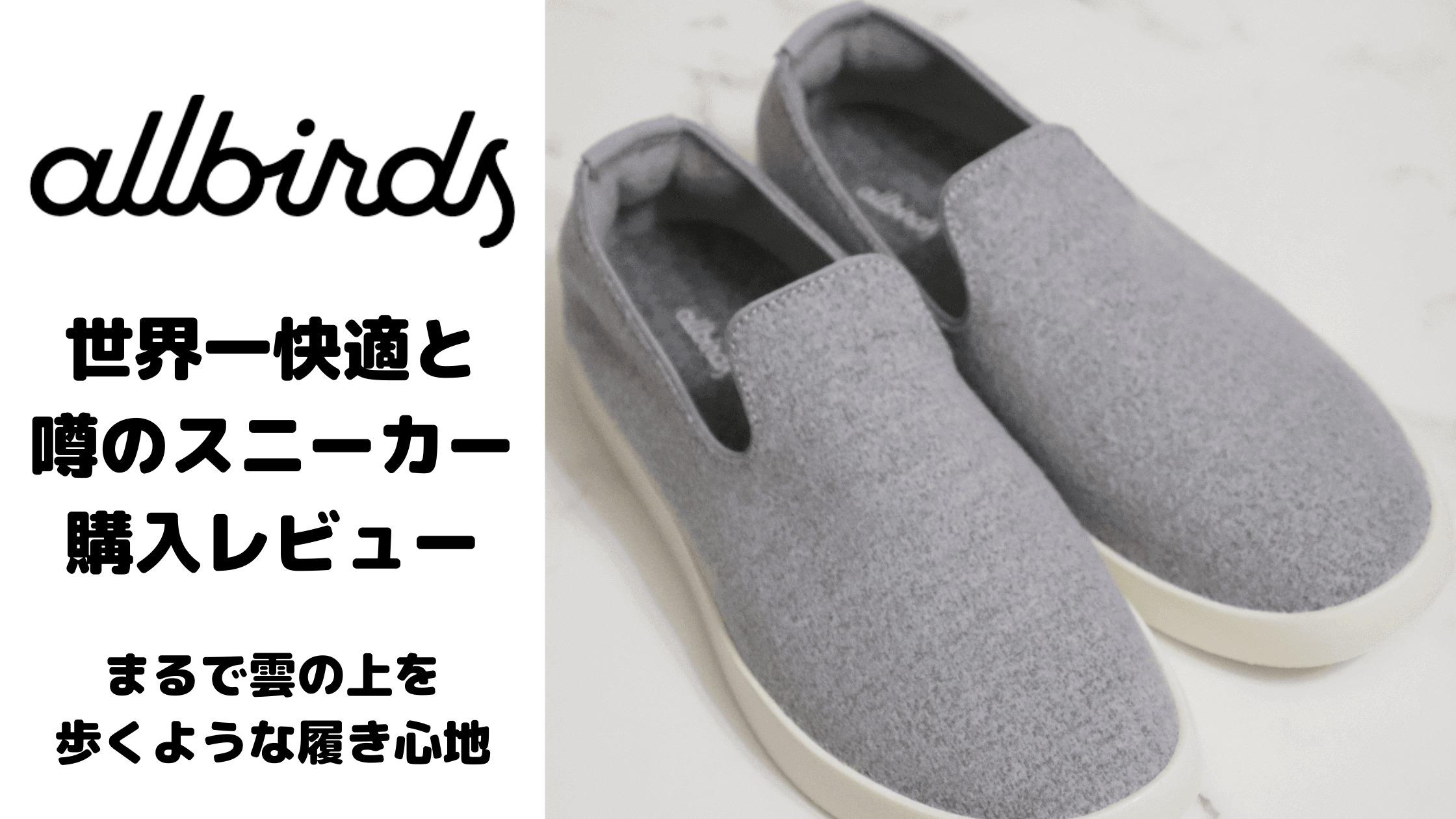 allbirds(オールバーズ)|日本初上陸の世界一快適なスニーカー 購入レビュー!洗濯もできる!