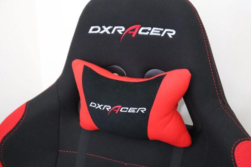 DXRACER快適な機能⑤|ヘッドレスト