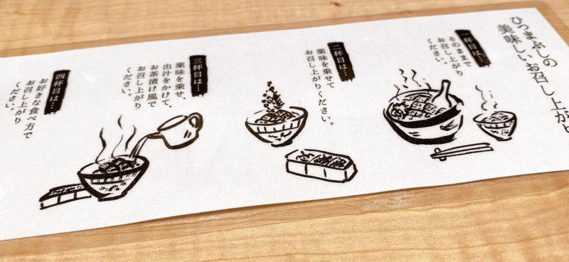 うな富士|ひつまぶしの食べ方