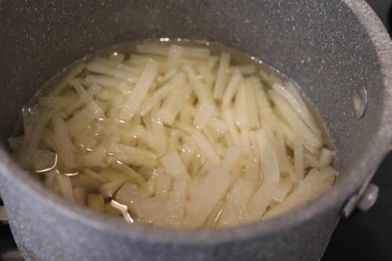ファスティング回復食「スッキリ大根」の作り方
