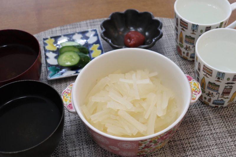 ファスティング回復食「スッキリ大根」の食べ方