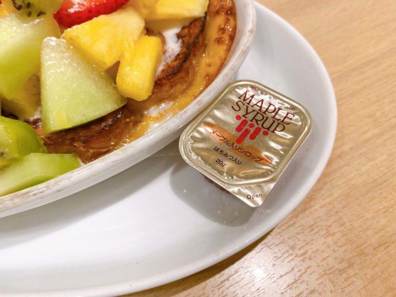 果実園リーベル新宿店フレンチトースト