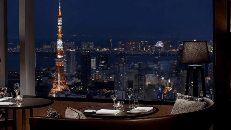 GoToイート 東京の夜景クリスマスディナー①|タワーズ/ザ・リッツ・カールトン東京