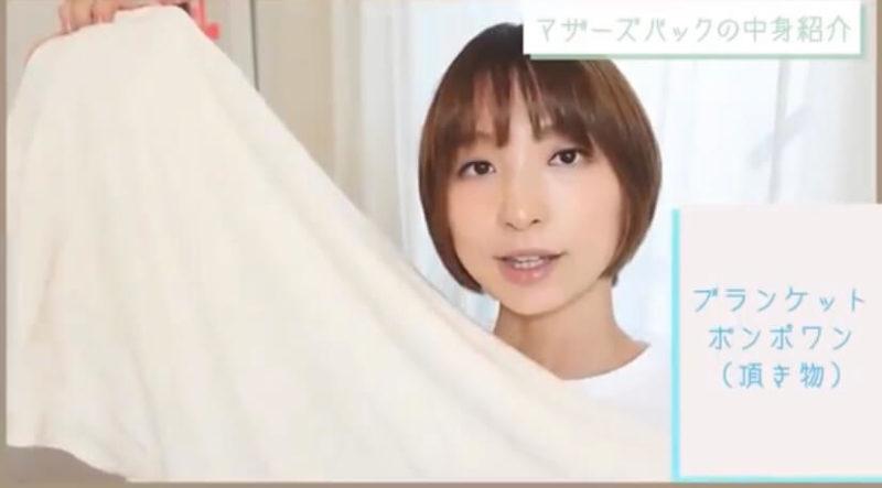 篠田麻里子さんバッグの中身