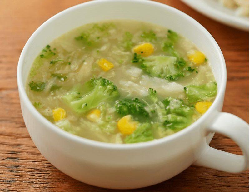 竹脇まりなさんおすすめ 無印良品 低カロリースープ 第1位|4種野菜のみそクリームスープ