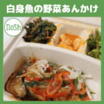 低糖質宅配弁当 nosh(ナッシュ)|竹脇まりなさん おすすめメニュー『白身魚の野菜あんかけ』(感想・レビューあり)