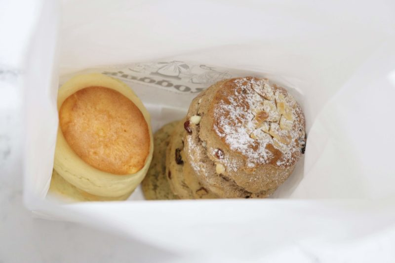【Rodda's(ロダス)@銀座三越】ロダスのクリスマススコーンが美味♡
