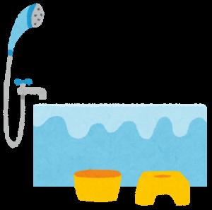 マコなり社長のナイトルーティン③ 手を洗った後にすぐにお風呂のお湯をためる