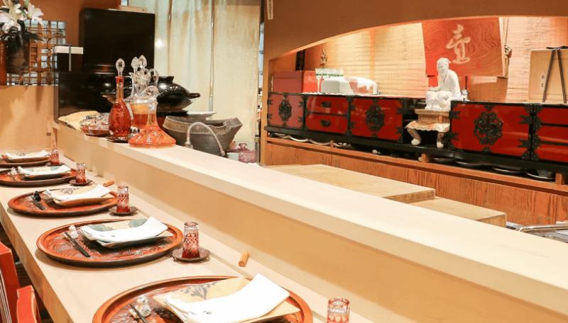 ミシュラン東京2021 銀座 二つ星|銀座 福樹(日本料理)