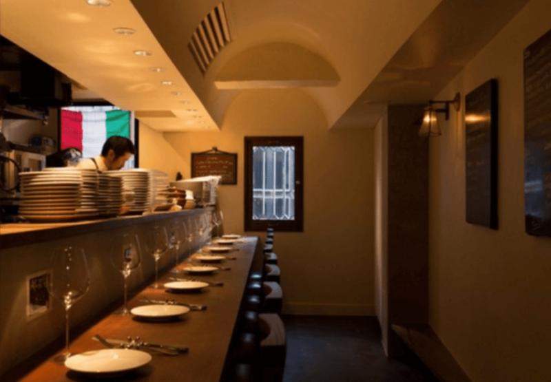 ミシュラン東京2021 銀座ビブグルマン オステリア ダ カッパ(イタリア料理)