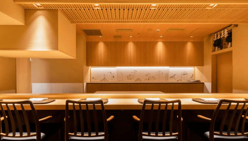 ミシュラン東京2021 銀座 一つ星|蓮 三四七(日本料理)