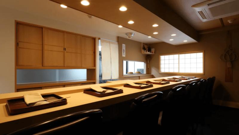 ミシュラン東京2021 銀座 一つ星|寿こう(日本料理)