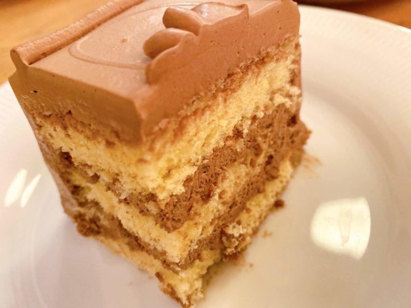【カフェ|トップス@銀座】レトロな店内で頂く、有名チョコレートケーキ