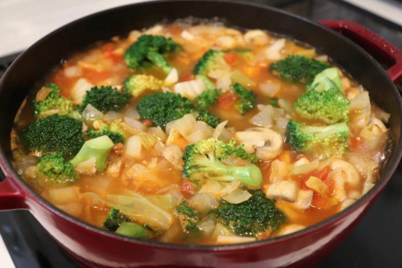 脂肪燃焼スープ レシピ|竹脇まりなさんおすすめ「脂肪燃焼スープ」を作って食べてみた感想