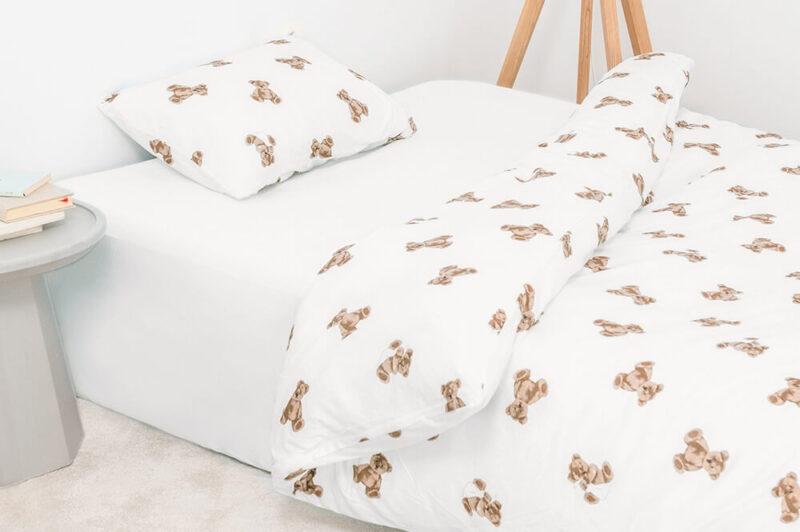 ジェラート ピケ スリープ|テディベア柄の寝具