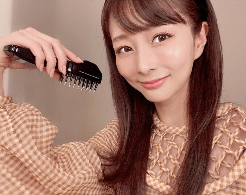 石井美保さんは2年以上前からデンキバリブラシを愛用♡