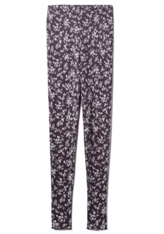 紗栄子さんおすすめ ジェラートピケ 大人可愛いパジャマ③|リトルフラワーレギンス