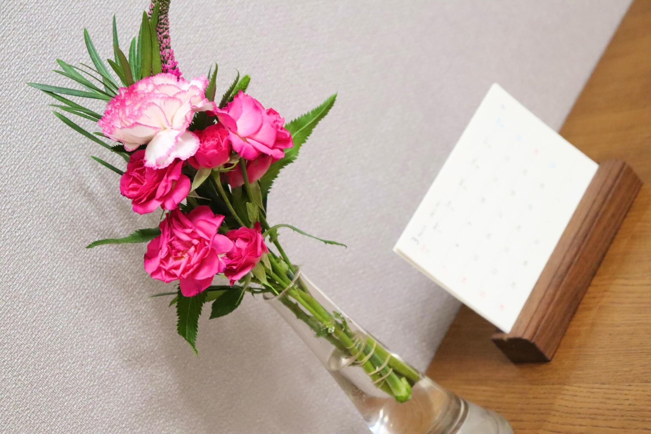 お花の定期便ブルーミー(bloomee)を試してみた感想