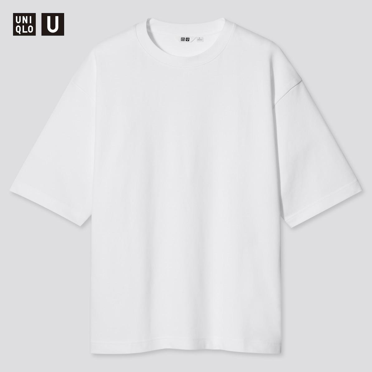 マコなり社長おすすめ 春のユニクロ商品 第1位|Uniqlo U エアリズムコットン オーバーサイズTシャツ