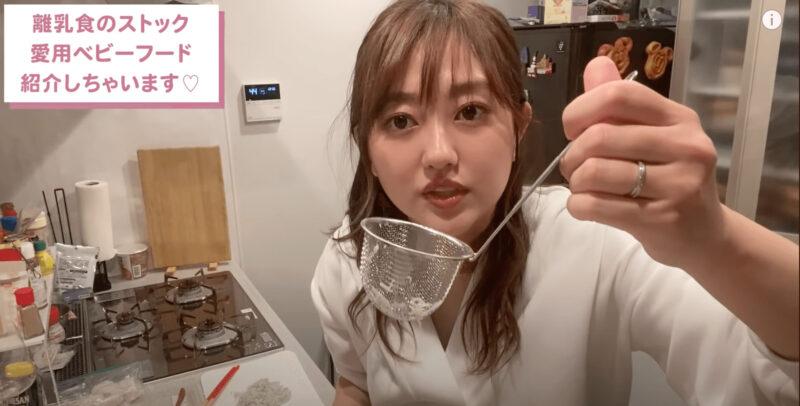 菊地亜美さん 離乳食愛用グッズとベビーフード まとめ【生後8ヶ月】