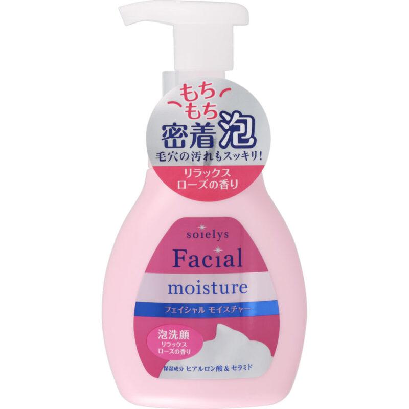 友利新さんおすすめ プチプラ泡洗顔③|ソワリス フェイシャルモイスチャー