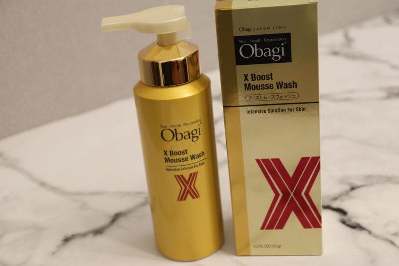 【オバジX ブーストムースウォッシュ】濃密泡に感動!炭酸泡洗顔のレビュー