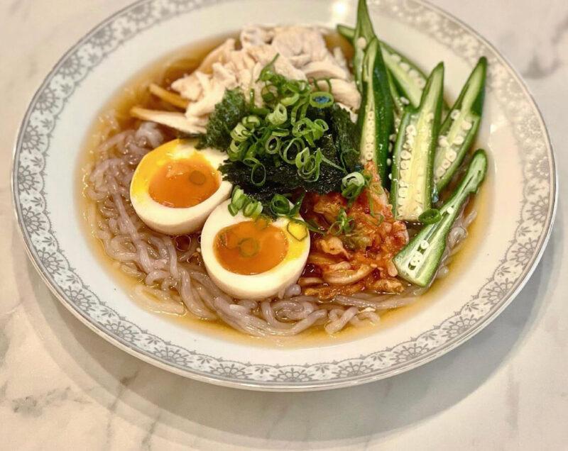 白滝の盛岡冷麺 レシピ|竹脇まりなさんオススメの簡単ヘルシー料理!