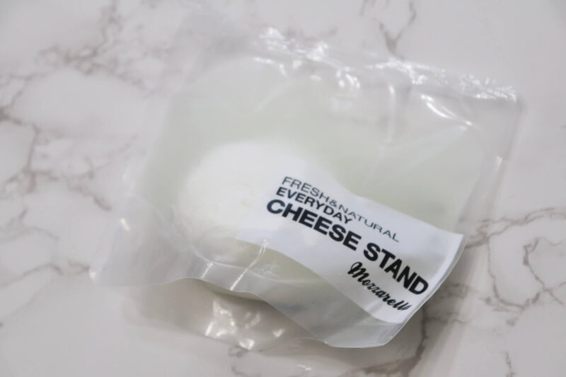 CHEESE STAND(チーズスタンド)の「出来たてモッツァレラ」をおうちで!