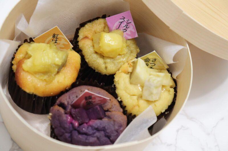 高級芋菓子しみず 築地本店|美味しい「和スイートポテト」の食べ比べ!