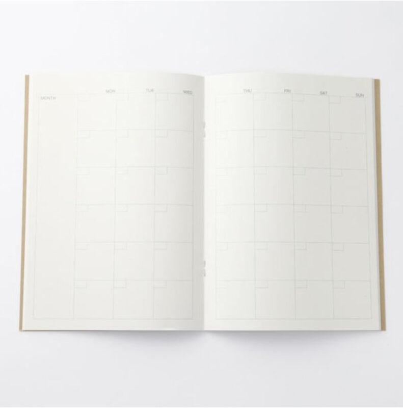 無印良品 ノート マンスリーA5・32枚