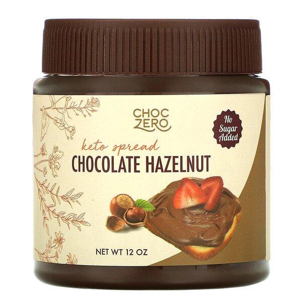 ChocZero Keto Spread Chocolate Hazelnut