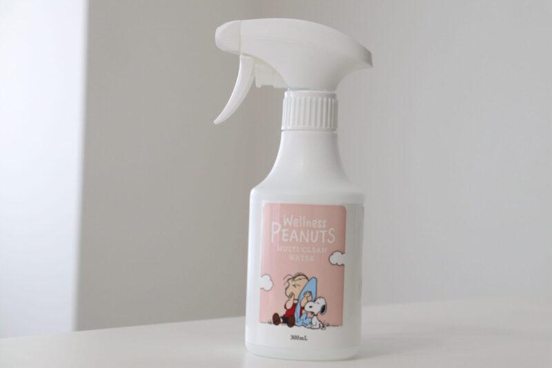 【コスメキッチンのマルチクリーンウォーター】赤ちゃんグッズの除菌に!スヌーピーのかわいい除菌スプレーがおすすめ